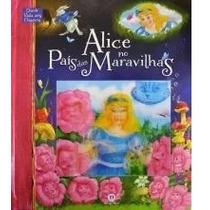 Livro Alice No País Das Maravilhas Com Pop-up