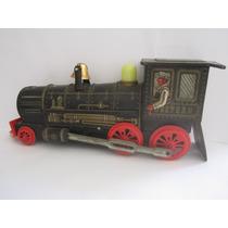 Locomotiva Trem Western Antigo Lata