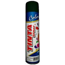 Kit 10latas Tinta Spray Verde Folha Militar Sec Rapida 400ml