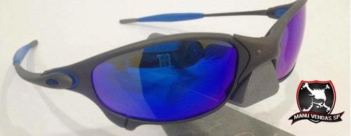 b68923143 Óculos Oakley Juliet Xmetal Neon Blue Original à venda em Ponte ...