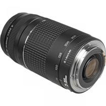 Lente Canon Ef 75-300mm F/4-5.6 Ill Nfe Garantia Canon