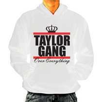 Casaco Hiphop Rap Swag - Taylor Gang - Com Bolso E Touca