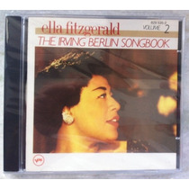 Cd Ella Fitzgerald Frete Grátis Irving Berlin V 2 Importado