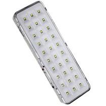Lâmpada Luz De Emergência 30 Leds Ecp Recarregavel Bivolt
