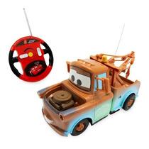 Mate (tow Mater) Carros Controle Remoto Série Campeão Disney