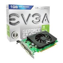Placa De Vídeo Nvidia Geforce Gt630 1gb Ddr3 Evga Pciexpress