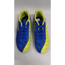 Tênis Infantil Menino Dray Futsal Azul/verde Limão Original