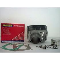 Kit Cilindro Motor Fan 125 2009 Original Honda Hamp