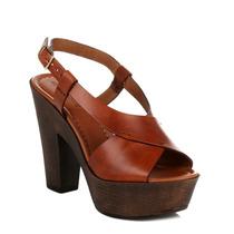 4ever Young Salto De Madeira Sandals Womens Brown 4