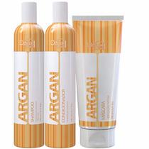 Doux Clair Kit Argan Effets Hidratação Intensa - 3 Produtos