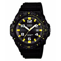 Relógio Casio Mergulho Mrw-s300h 1b3v Bat. Solar Wr-100 M Am