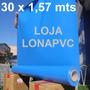 Lona Azul Céu Pvc Tatame 30 X 1,57 Ringue Academia Proteção