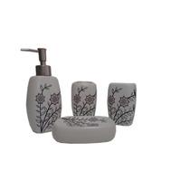 Kit Acessórios Banheiro Cerâmica Vários Modelos