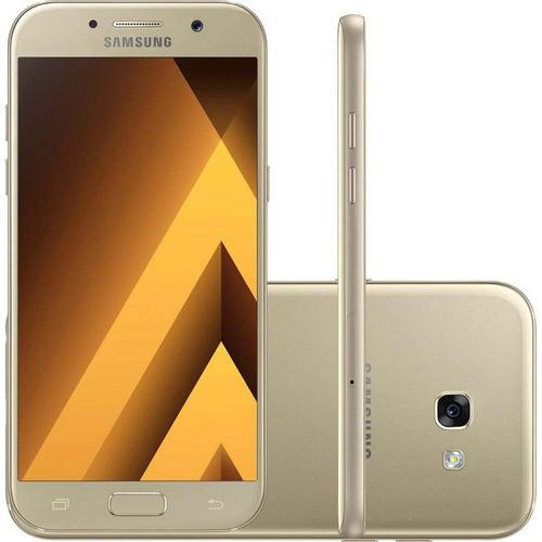 Smartphone Samsung Galaxy A5 ( 2017 ) Dourado 5,2 Câmera De 1