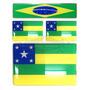 Kit Adesivos Bandeiras De Sergipe Resinados + Brinde Brasil