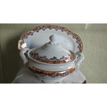 Sopeira Com Presentoir Porcelana Schmidt
