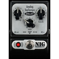 Pedal Nig Analog Tap Tempo Delay - Padt Pd0602