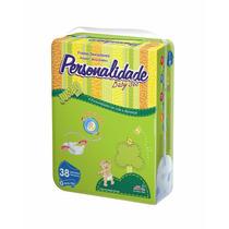 Fralda Personalidade Baby Sec Jumbo ( Gde ) Com 38 Fraldas