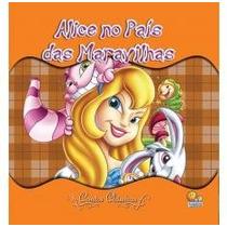 Livro Infantil Clássicos Luxo - Alice No Pais Das Maravilhas