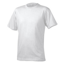 Camisetas 100% Poliéster Lisas Para Sublimação (branca)