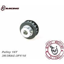 3racing Center Pulley T16 #3rac-3py/16 P/ Sakura D3 D4 Cs