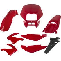 Carenagem Bros 150 Vermelho 2006 Kit Completo