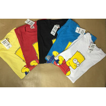 Kit Camisa Camiseta Personagens Os Simpsons Diver !!!