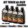 Kit Troca Oleo Cambio Corolla Toyota Novo 2003 A 2016 Autom.
