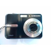 Camera Digital Samsung S860 8.1 Megapixels Preta