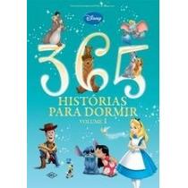 Livro Infantil 365 Histórias Da Disney Capa Almofadada