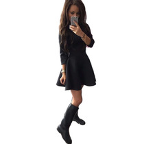 Vestido Plissado Mini (frete Grátis)
