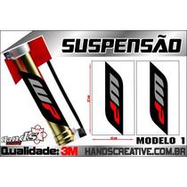 Adesivo Para Suspensão Wp Ktm Honda Suzuki Husaberg Yamaha