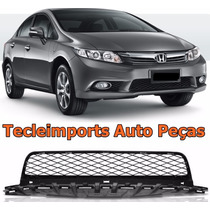 Grade Inferior Parachoque Honda New Civic Ano 2012 2013 2014