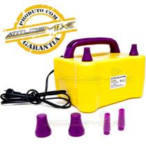 Inflador Bomba Elétrica Compressor Balões Bexigas Automático