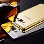 Capinha Bumper Metal Espelhado Celular Galaxy A5 A500