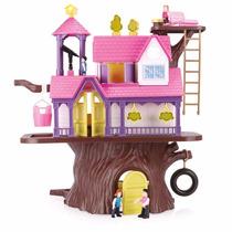 Casa Na Árvore (com Bonecos) Casinha - Homeplay Xplast