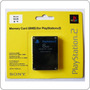 Memory Card 8mb Playstation 2 Sony Play Two-lacrado