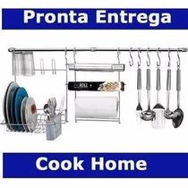 Kit Suporte De Cozinha Cook Home Arthi Lindo Com 11 Peças!