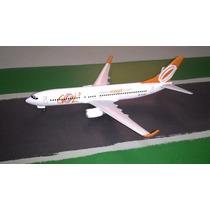 Miniatura De Avião - Boeing 737-800 - Gol - Escala 1:200