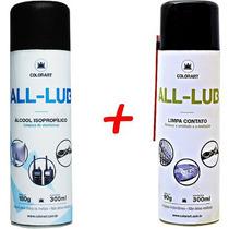 Kit Álcool Isopropílico E Limpa Contato Eletrico Colorart