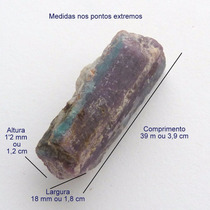Turmalina Paraíba Violeta Bruta Pedra Preciosa Natural 3158