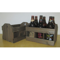 Caixote De Madeira Engradado Para Bebidas/cerveja