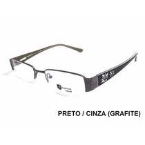 Armação De Óculos P Lente D Grau Feminino Em Acetato E Metal