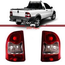 Par Lanterna Traseira Fiat Strada 2009 2010 2011 2012 2013