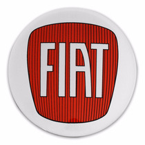 Kit Adesivos Para Calota Fiat Resinados Autocolantes 51mm