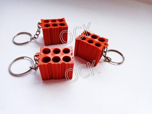 8f0ec04a4 30 Chaveiro Tijolo Para Personalizar Tijolinho Construção. R  30