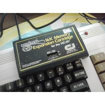 Antigo E Raro Cartucho De Memoria 16k For Commodore Vic 20