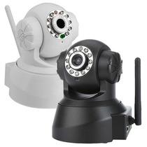 Câmera Ip Wireless Com Internet Sem Fio Frete Gratis