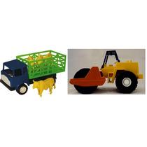 Brinquedo Caminhão De Boi E Trator Promoção!