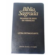 Bíblia Sagrada Evangélica Letra Extra Gigante Com Índice